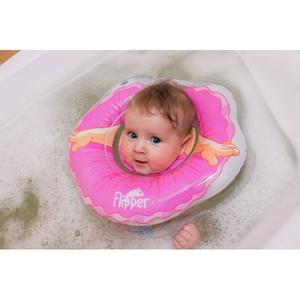 "007 FL Flipper- круг на шею для купания малышей ""Балерина"""