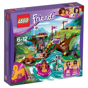 41121 LEGO FRIENDS Спортивный лагерь: сплав по реке