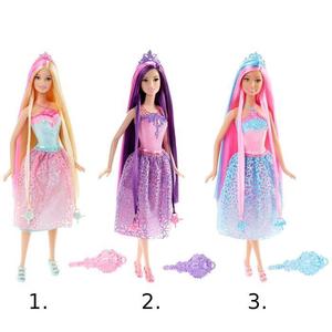 11.DKB56 Принцесса с длинными волосами