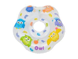"002-RN Круг на шею для купания малышей ""OWL"" 4627086622221"