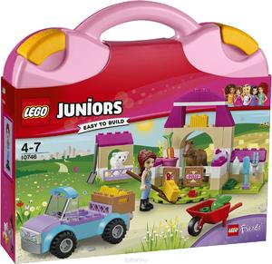 10746 LEGO Джуниорс Чемоданчик Ферма Мии