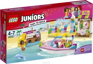 10747 LEGO Джуниорс День на пляже с Андреа и Стефани
