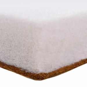 Матрац-трансформер в круглую кроватку (комплект с наматрасниками) кокос d75. L125