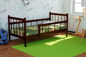 Кровать подростковая Колибри (орех, венге, белый)